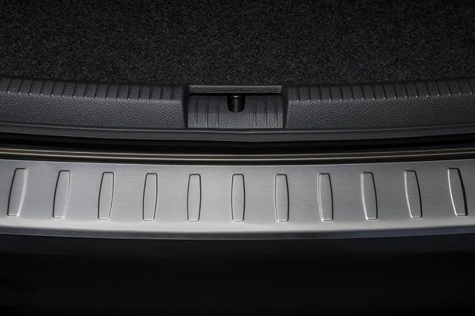Avisa Protection de seuil arri/ère inox compatible avec Toyota Verso 2013-2017 /& 2017 Ribs