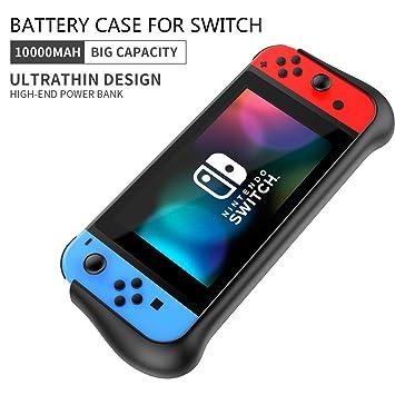 Amazon.com: Moonmini - Funda de batería para Nintendo Switch ...