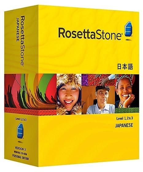 Rosetta Stone Version 3: Japanese Level 1, 2 & 3 Set with Audio Companion