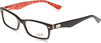 Ray-Ban Rx5206 Rectangular Prescription Eyeglass Frames