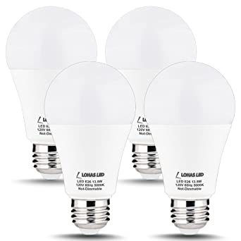 LOHAS LED Light Bulbs 100 Watt Equivalent  Daylight  5000K  A19 LED Bulb. LOHAS LED Light Bulbs 100 Watt Equivalent  Daylight  5000K  A19