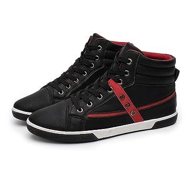 Scarpe da Ginnastica per Uomo Sneakers in Pelle PU Scarpe da