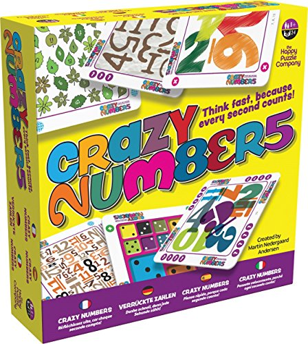 (Crazy Numbers - Think Fast, Because Every Second Counts. Use Speed Of Thought, Visual Perception, Math, Critical Thinking, and other valuable skills to win the game. Just don't give the wrong answer!)