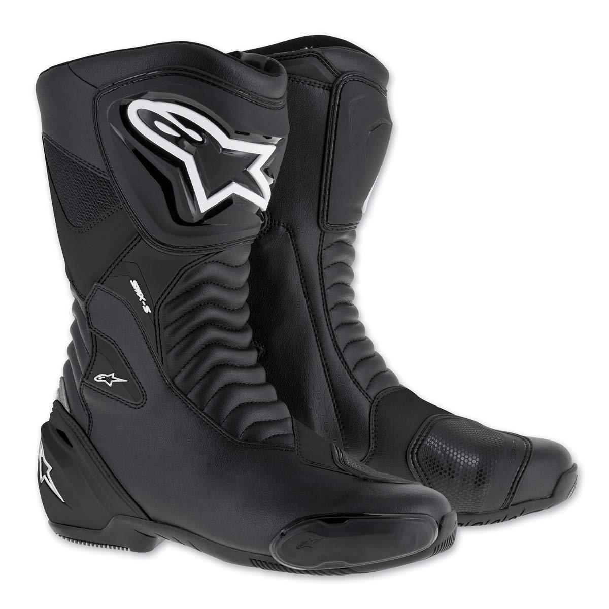 Alpinestars SMX S Boots 44 BLACK//BLACK