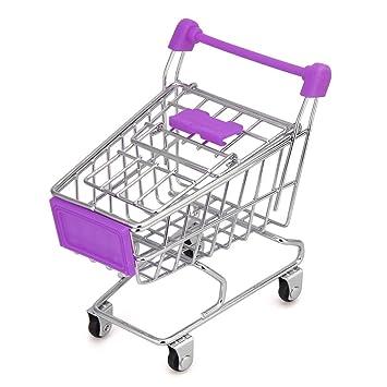 Rack de almacenamiento, Clearance. amydong Mini carrito de la compra niños juguete creativo accesorio de carrito de la compra de almacenamiento Rack de ...