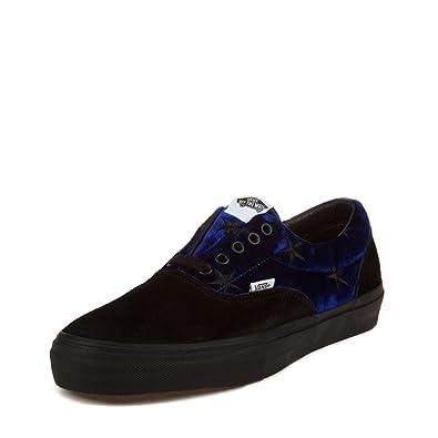 aceffa07faf434 blue and black vans Sale