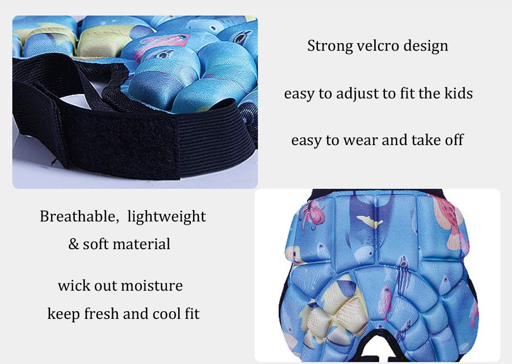 yingfeg bb Kids Hip Pad Butt Protective Gear Youth Padded Shorts for Ski Ice Skate Snowboard Hockey Soccer