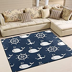 61PUjt8vGuL._SS300_ Whale Area Rugs & Whale Runners