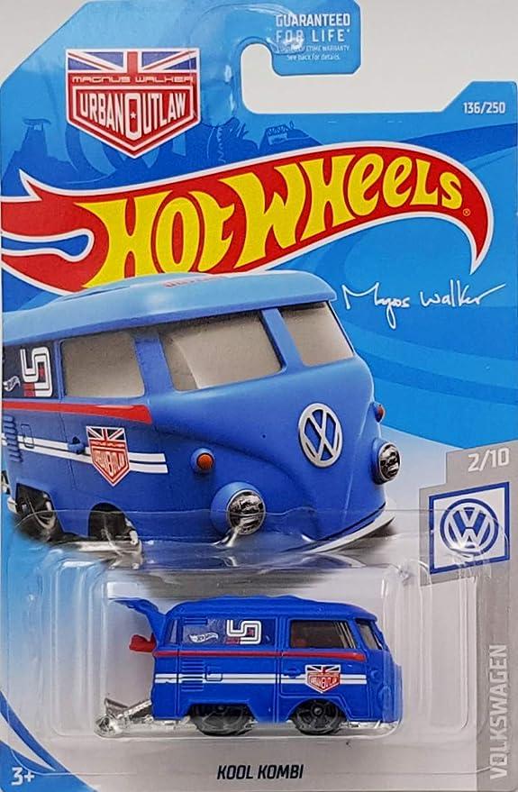 2019 HOT WHEELS Kool Kombi Magnus Walker VW 2//10; 136//250 White
