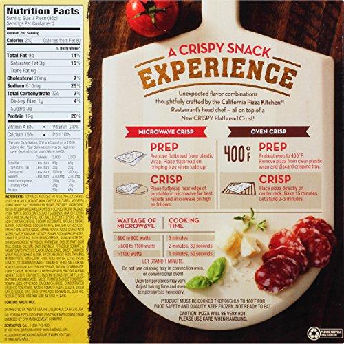 California Pizza Kitchen Frozen Pizza Nutritional Facts