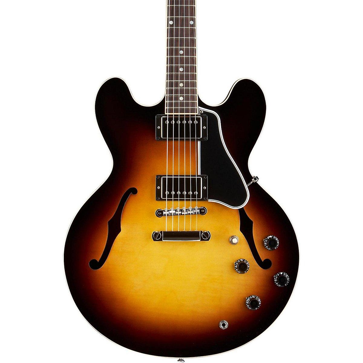Gibson Memphis esdt14vsnh1 ES-335 semi-hollow-body guitarra eléctrica, figurado Vintage Sunburst: Amazon.es: Instrumentos musicales