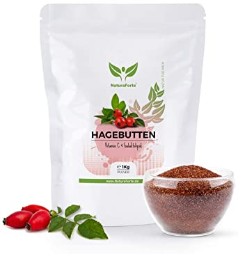 Rosa Mosqueta en Polvo (Escaramujo) 1kg - 100% Frutos en polvo - Con