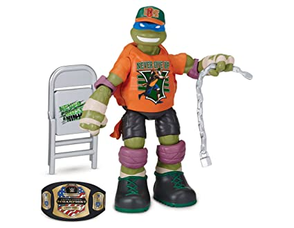 Amazon.com: Teenage Mutant Ninja Turtles Wwe Mash Up Action ...