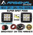 No.1 20W Pro Series 3x3 PODs SPOT Light 2000 Lumens for Driving Fogs 4x4 Atv Truck 4wd Suv Tractor Motorcycle Jeep RZR UTV Rock Lights