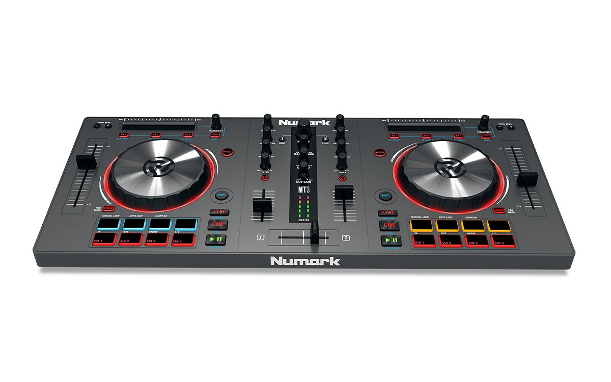 Numark Mixtrack 3 | All-in-one Controller Solution with Virtual DJ LE Software Download by Numark (Image #3)