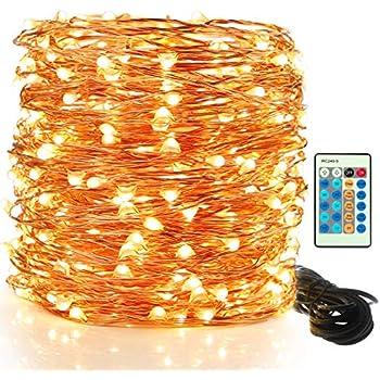 Amazon Com Lightsetc 200 Fairy String Lights Battery Operated