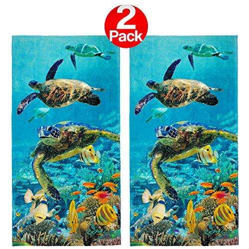 Ben Kaufman - Count the Turtles Beach Towel (106063) - 2 Pack Set ()