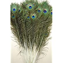 """50 Pcs Peacock Feathers 35""""-40"""""""