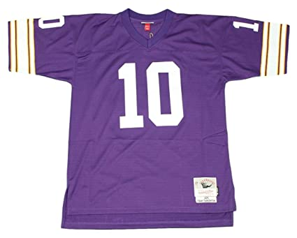 Image Unavailable. Image not available for. Color  Mitchell   Ness Fran  Tarkenton 1975 Minnesota Vikings Home Purple Legacy Jersey 6937c8663