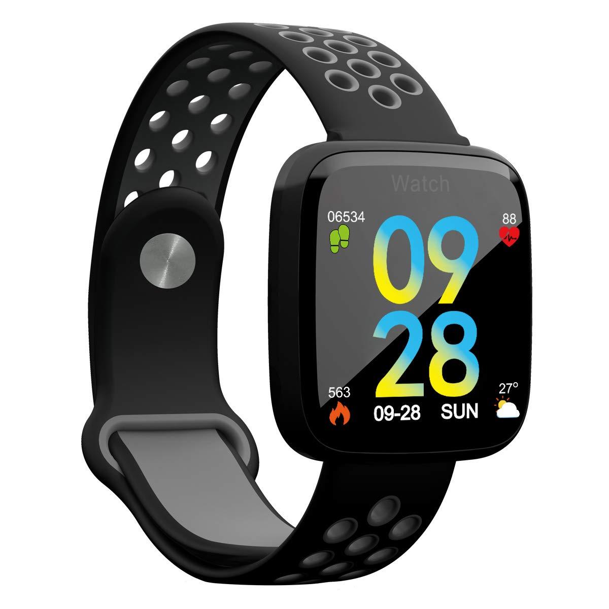 QIONGQIONG Fitness Tracker,Inteligente Pulsera Watch,Monitor De ...