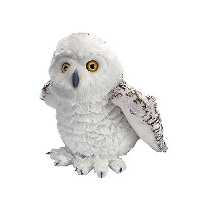 Wild Republic Snowy Owl Plush, Stuffed Animal, Plush Toy, Gifts for Kids, Cuddlekins, 12 Inches: Toys & Games