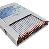 Marco Raffine coloured pencils, set of 72 assorted colours, art supplies, Taotree, sketching pencil for the school season, sketching and writing, adult colouring books: Secret Garden/Enchanted Forest