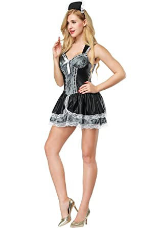 Adult Wecam Kinky French Maid Outfit
