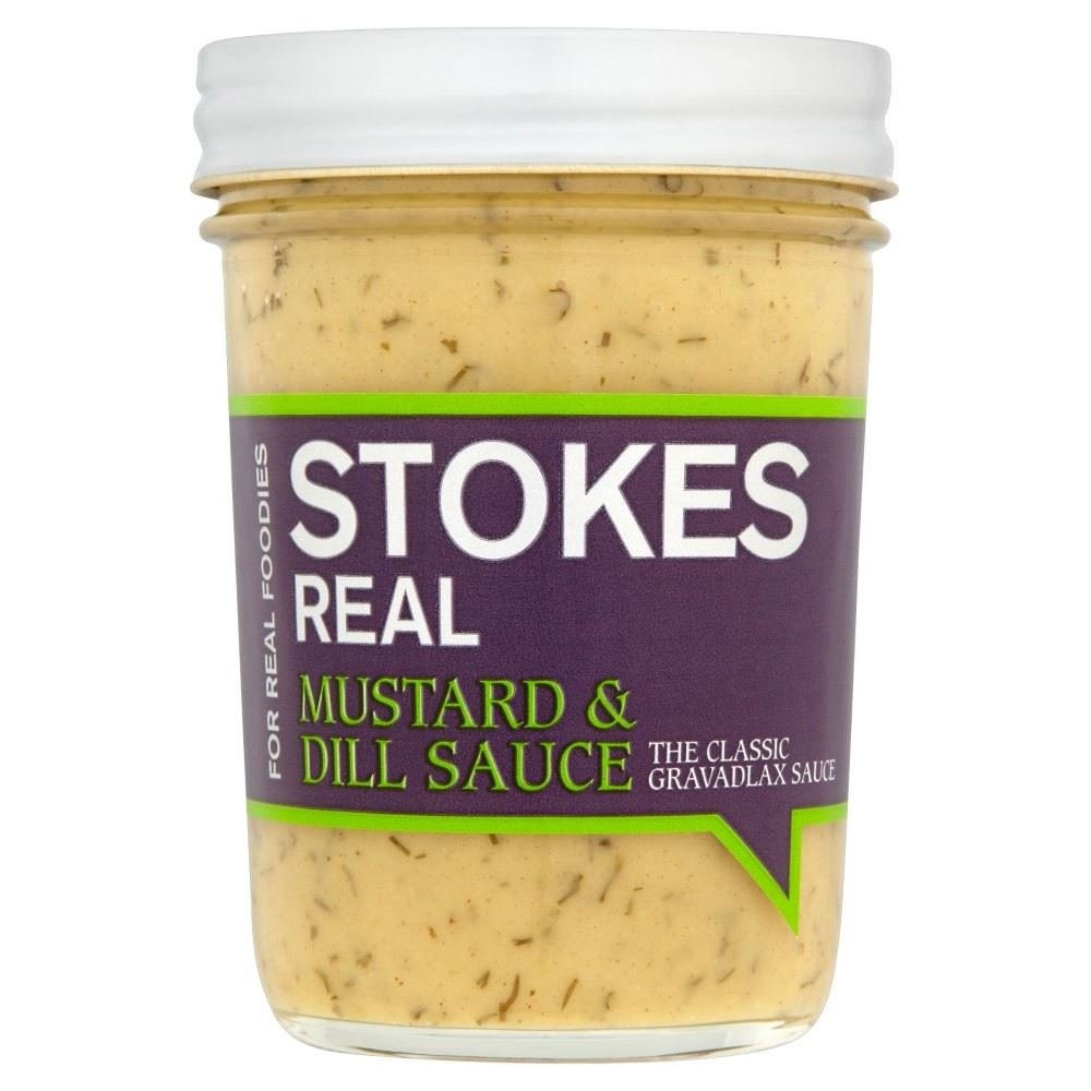 Stokes Real Mustard & Dill Sauce (213g)