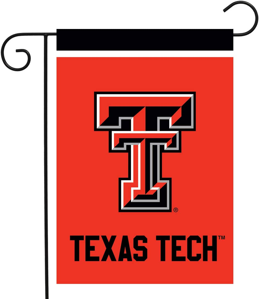 "Briarwood Lane Texas Tech Red Raiders Garden Flag NCAA Licensed 12.5"" x 18"""