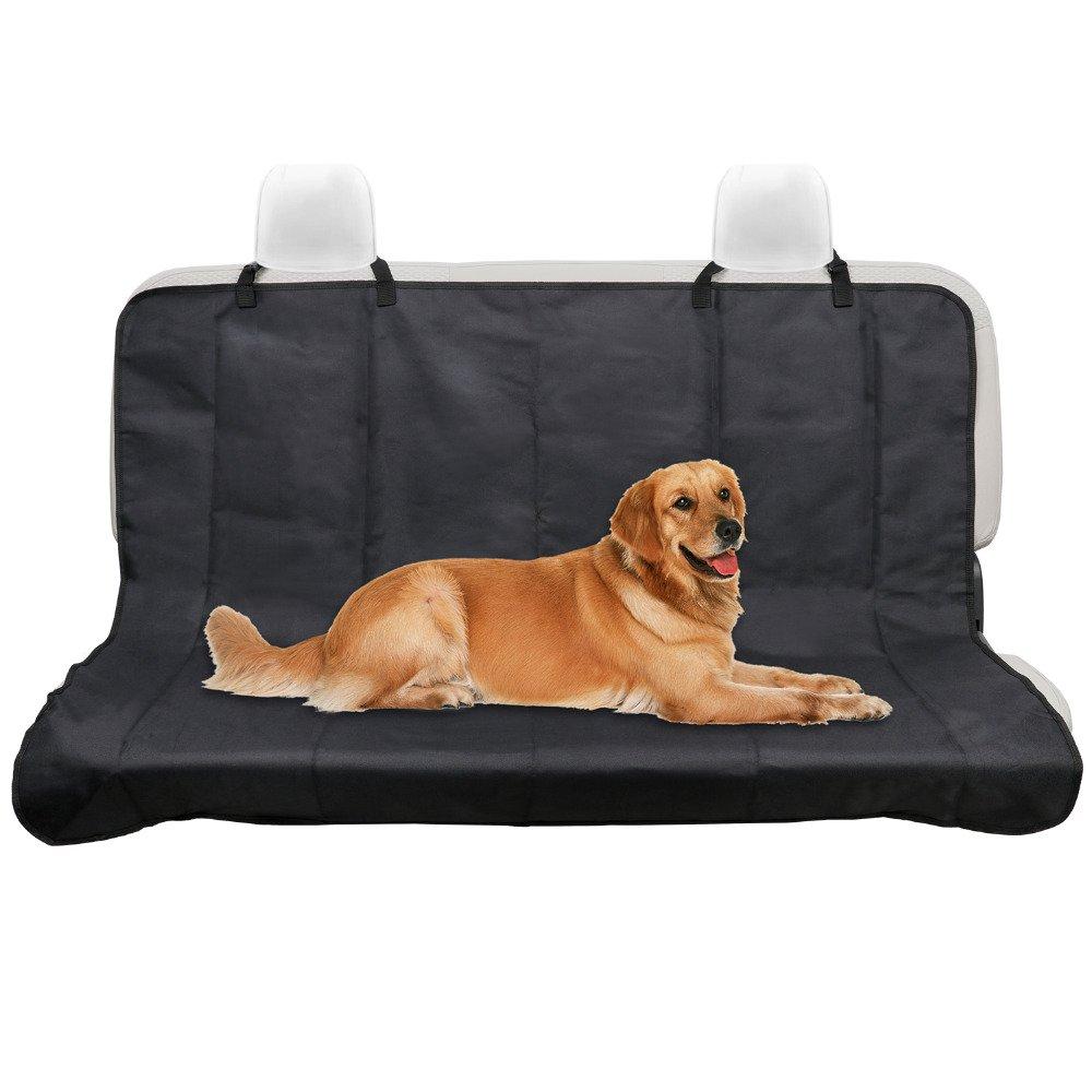 GUQQRZCT 車の背部の防水シートカバー犬の犬の保護帽子のためのペットの後部の安全旅行黒ペットのマット GUQQRZCT B07QFMSNWV