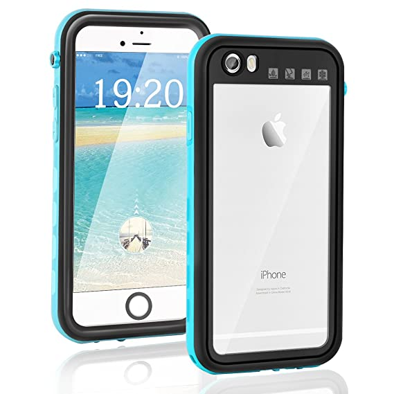 2981532000610 iPhone 6/6S Waterproof Case, Keklle Ultra Slim Protective Case Cover with  Touch ID Dirtproof/Snowproof/Shockproof/Waterproof Case for Apple iPhone ...