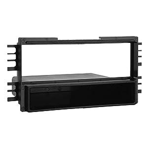 Metra 99-7313 Hyundai/Kia 2001-08 Installation Dash Kit for Single DIN/ISO Radios