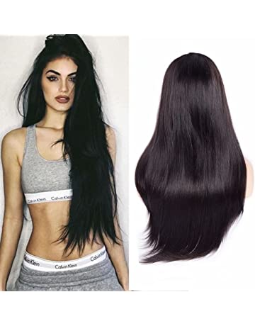 Maxine Hair 9A Straight Lace Front Wigs Human Hair with Baby Hair Pre-Plucked 180