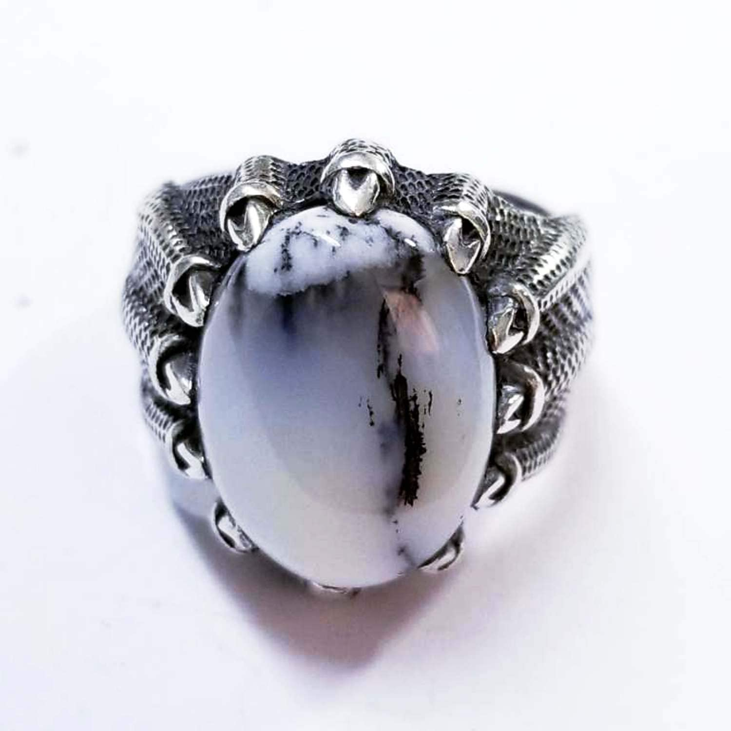high stone agate100/% yemen white agate aqeeq aqeeq ring sterling silver 925 natural gemstone men jewelry any size middle eastern