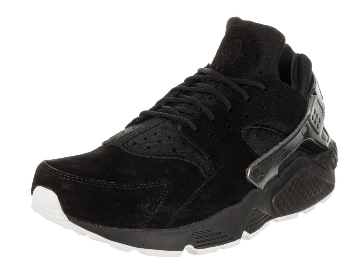 Nike Air Huarache Run PRM Mens Running Shoes B07BBXN3ZT 11.5 D(M) US|Black/Black/Sail