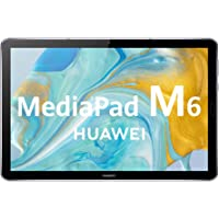 "HUAWEI MediaPad M6 - Tablet 10.8"" con pantalla 2K de 2560 x 1600 IPS (Wifi, RAM de 4GB, ROM de 64GB, Kirin 980, EMUI 10…"