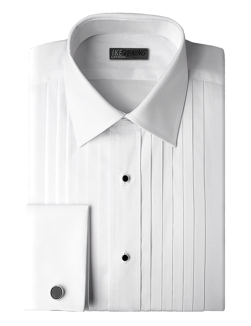 IKE Behar 100% Woven Cotton Tuxedo Shirt