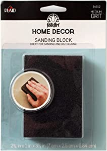 FolkArt Home Decor Sanding Foam Block,
