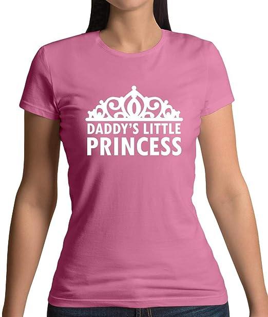 8f5746b20 Amazon.com: Dressdown Women's Daddy's Little Princess T-Shirt - 8 ...