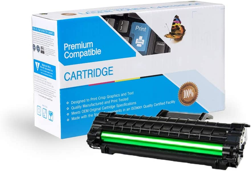 On-Site Laser Compatible Toner Replacement for Xerox 106R01159 Works with: Phaser 3117 3125 3124 3122