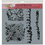 Crafters Workshop Tattered Lace Crafter's Workshop Template, 12-Inch by 12-Inch