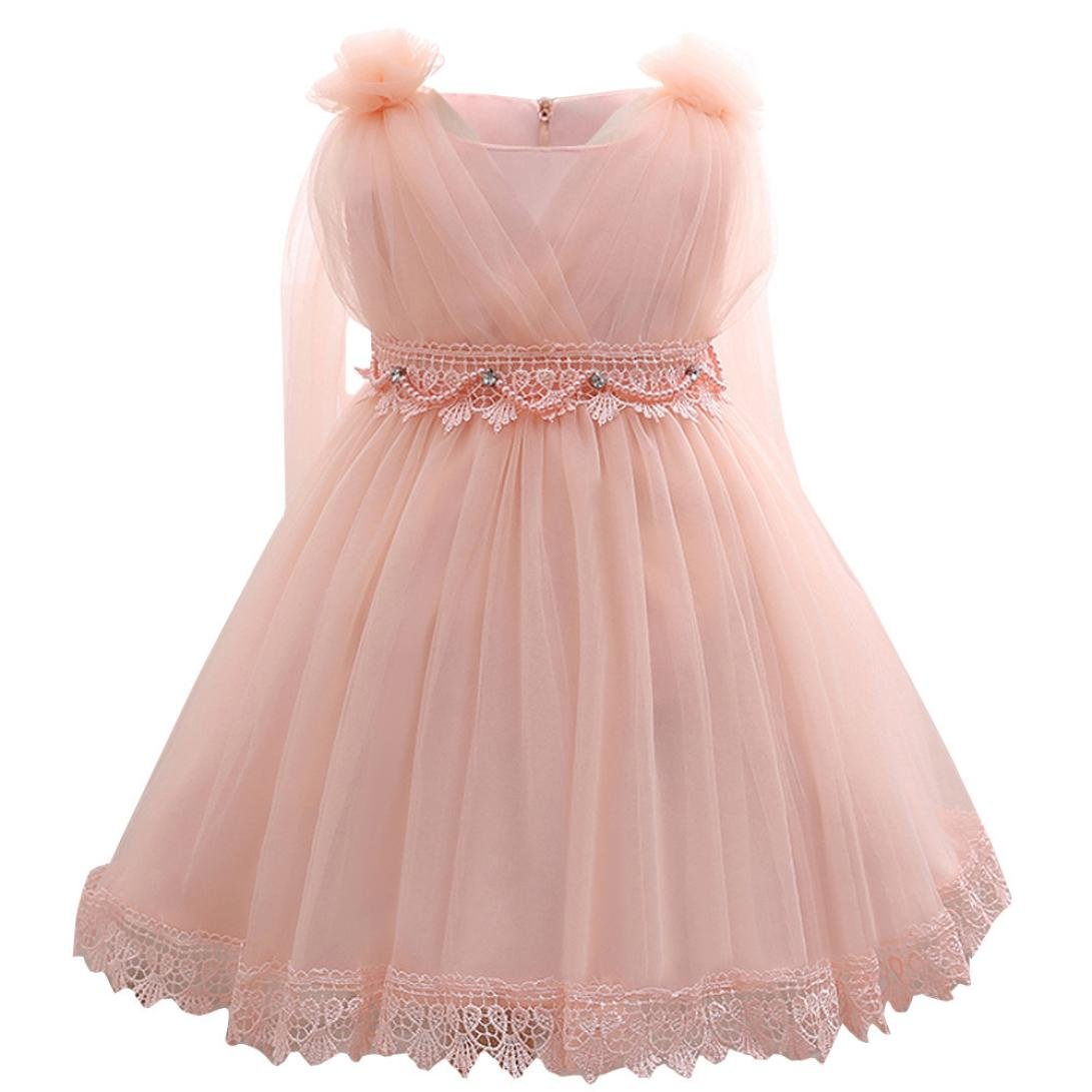 Vestido de niña de flores Vestido de dama de honor de la boda del ...