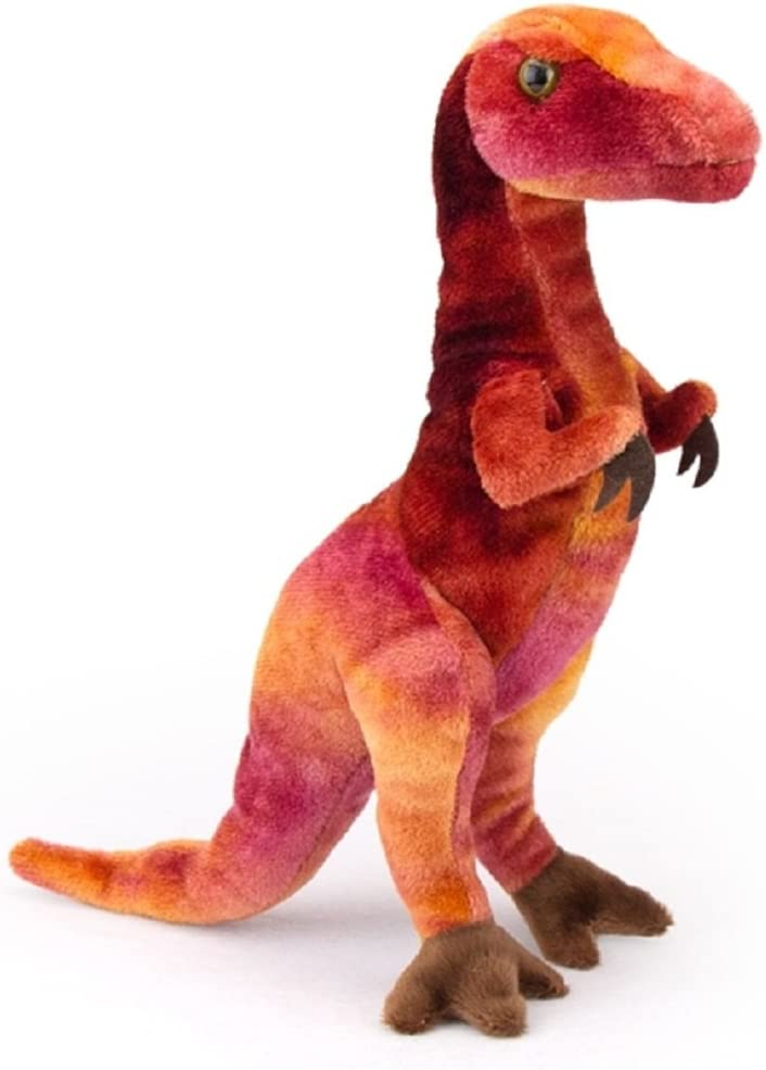 Douglas Roaring Velociraptor Dinosaur Plush Stuffed Animal