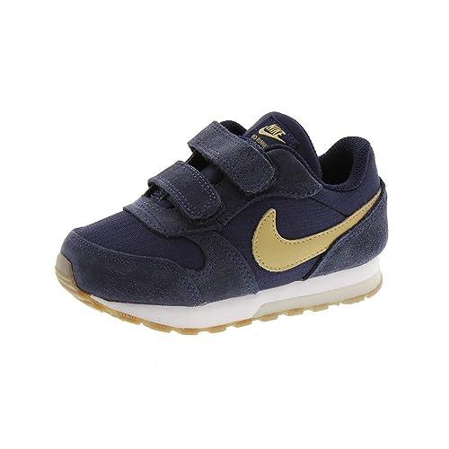 Nike Md Runner - Zapatillas Niño Azul 28M  Amazon.es  Zapatos y complementos c97f941685a5d