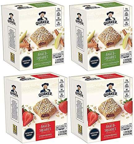 Granola & Protein Bars: Quaker Breakfast Squares