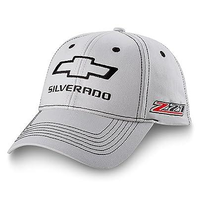 Chevrolet Silverado Z71 Gray Hat Black adjustable: Automotive