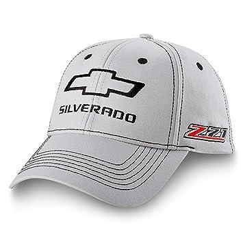 70e8f3e5c45 Amazon.com  Chevrolet Silverado Z71 Gray Hat Black adjustable ...