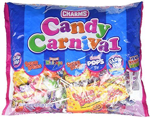 Candy Bag Charm - Fun Express Carnival Mix Charms Candy, 2.75 lb.