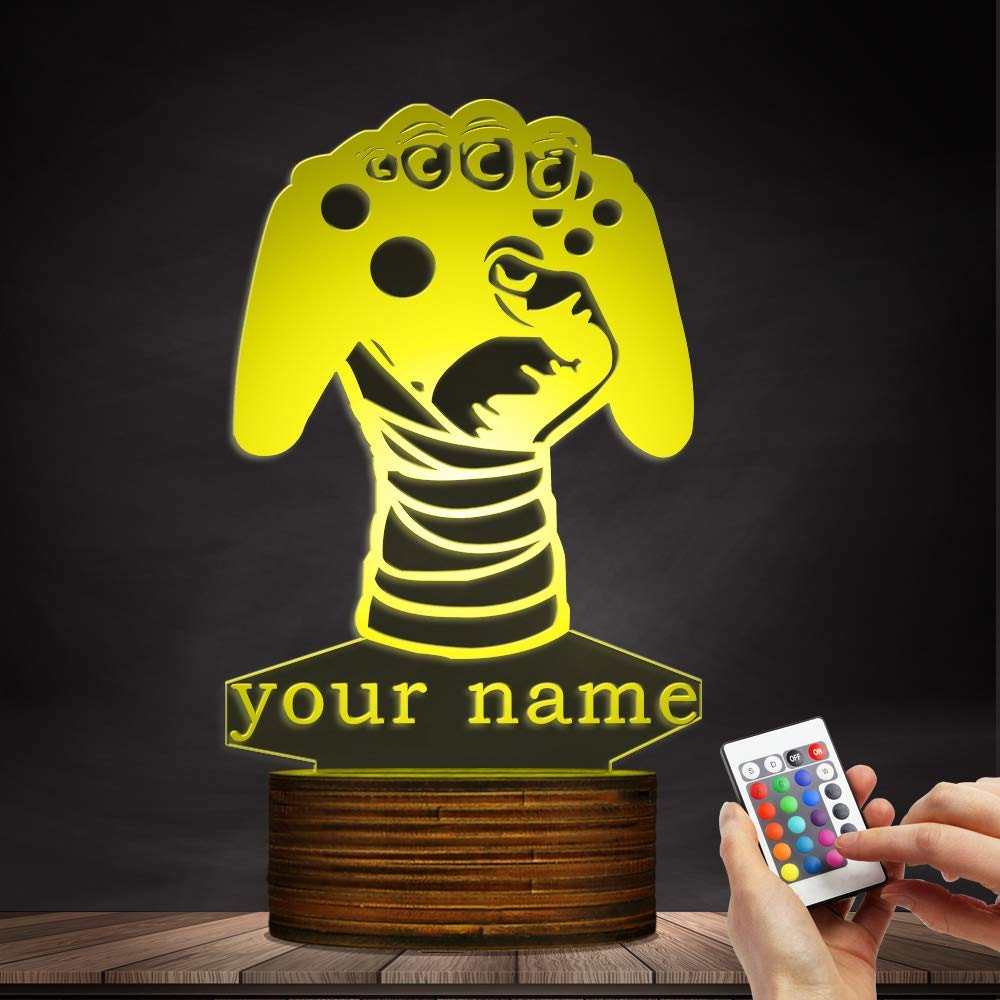 Carl Artbay Customize Your Name 3D LED Lights