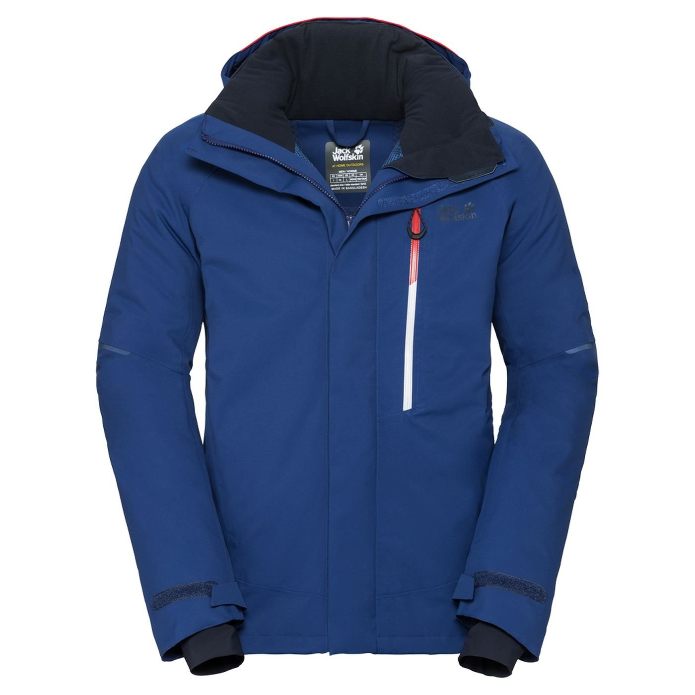 Jack Wolfskin Exolight ICY Winter Jacket Men's Jacket Blue